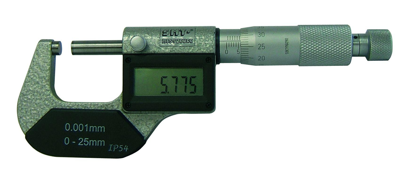 mikrometer digital 50 75 mm smt messzeuge. Black Bedroom Furniture Sets. Home Design Ideas