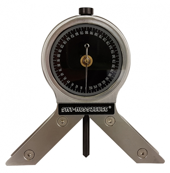 Magnetic Angle Indicator : Magnetic angle gauge ° cw with center point finder